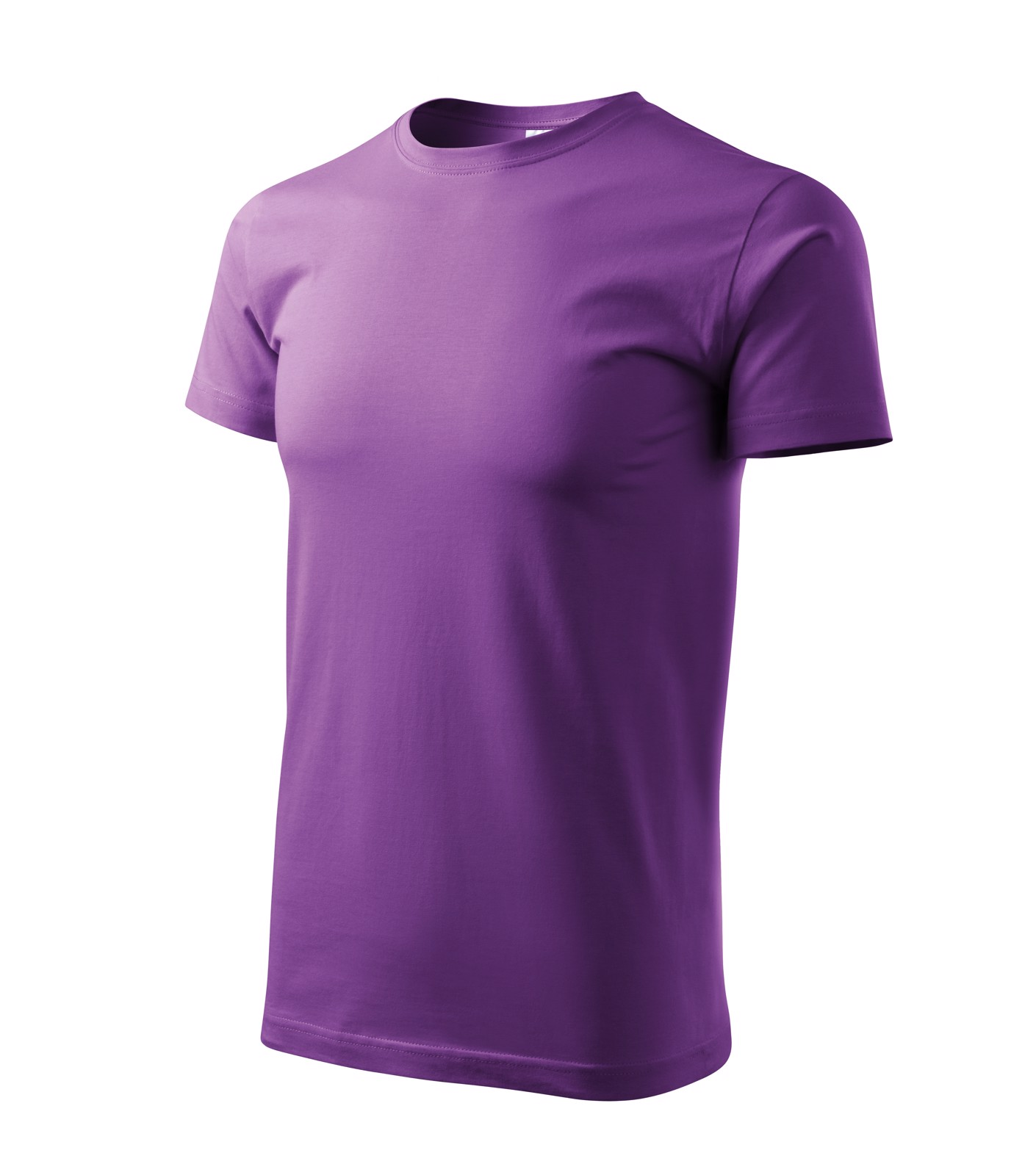 T-shirt men's Malfini Basic - Purple / 2XL