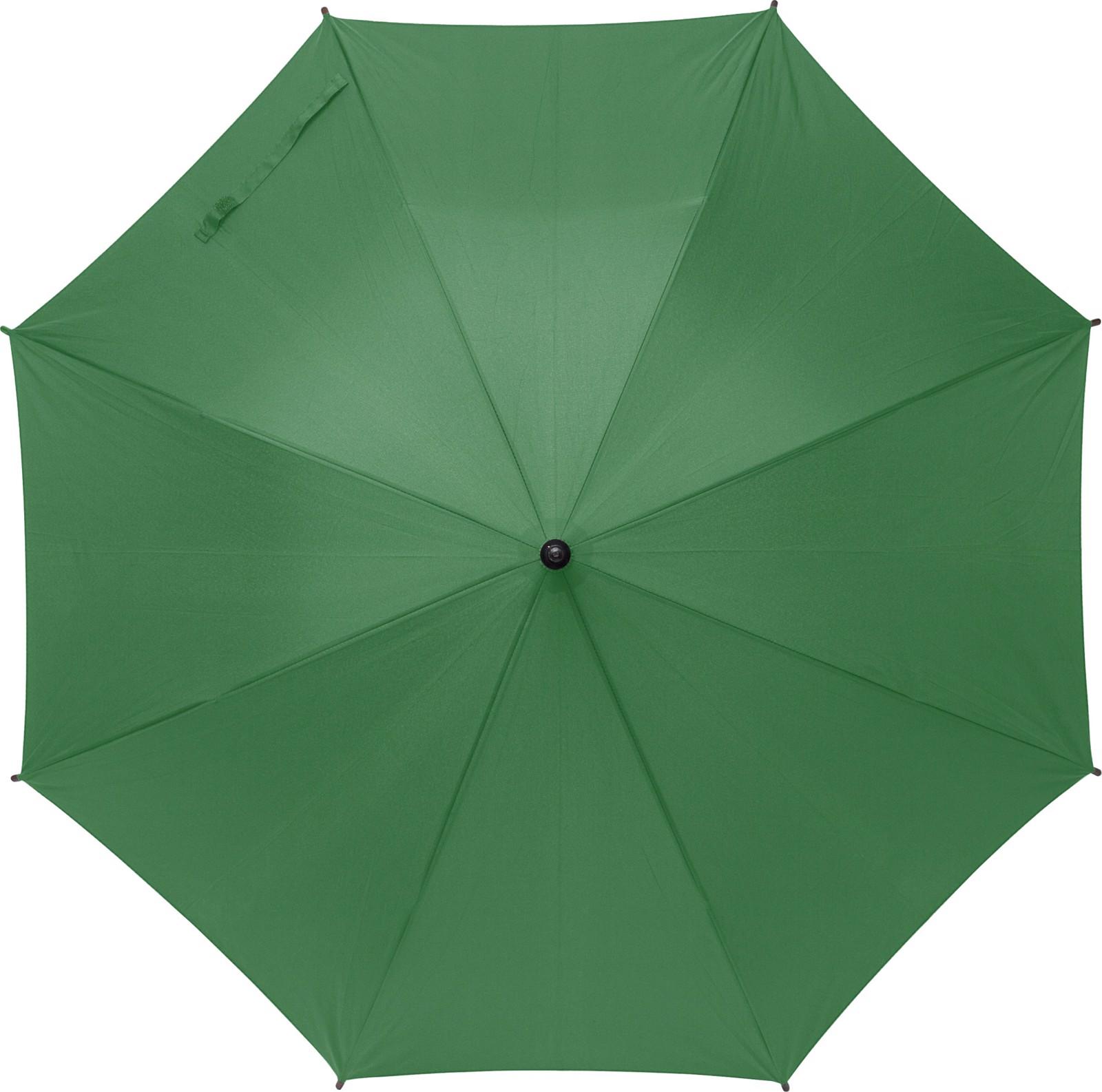RPET polyester (170T) umbrella - Green