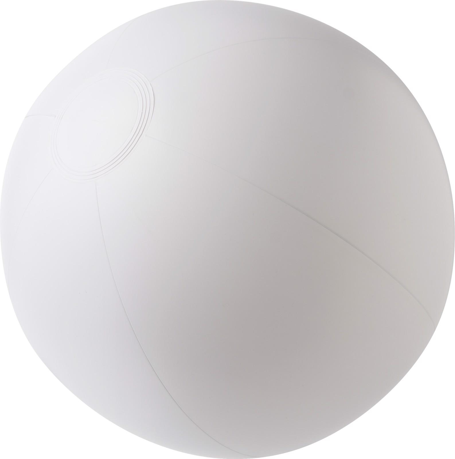 PVC beach ball - White