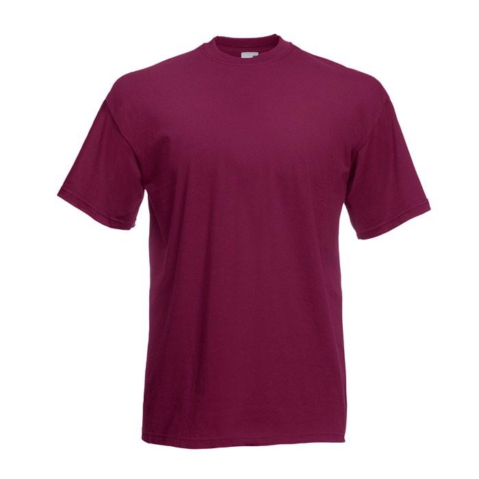 T-shirt 165 g/m² Value Weight T-Shirt 61-036-0 - Burgundy / XL