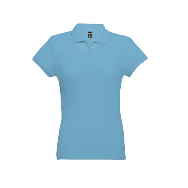 EVE. Γυναικεία πόλο μπλούζα - Γαλάζιο / M
