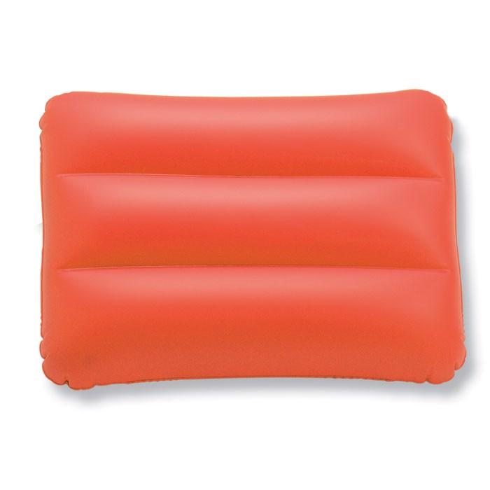 Prostokątna poduszka plażowa Siesta - czerwony