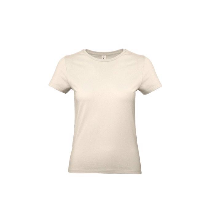 T-shirt female 185 g/m² #E190 /Women T-Shirt - Natural / XXL
