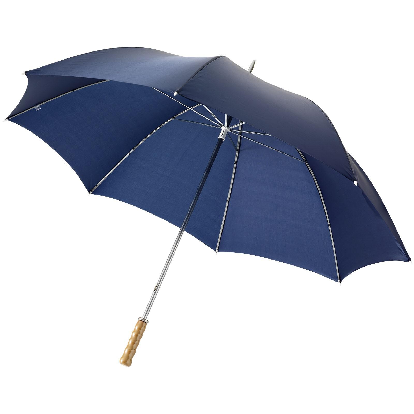 """30"""" golfový deštník Karl s dřevěnou rukojetí - Navy"""