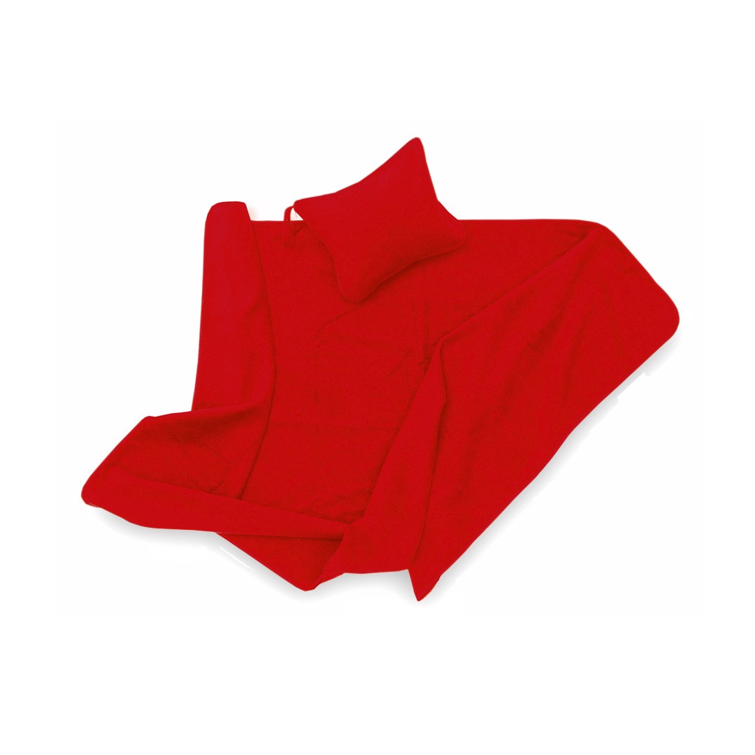 Manta Yelmo - Rojo