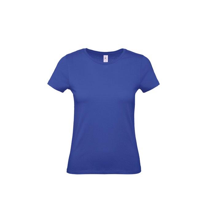T-shirt female 185 g/m² #E190 /Women T-Shirt - Cobalt Blue / L