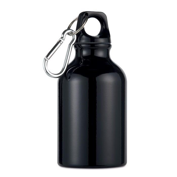 Aluminium bottle 300 ml Moss - Black