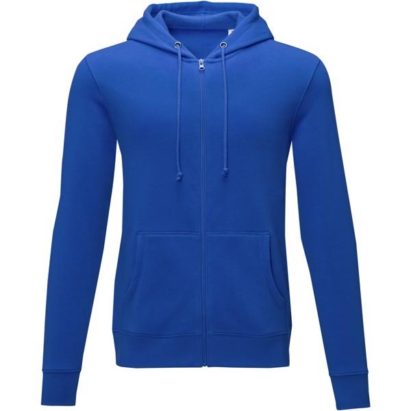 Theron men's full zip hoodie - Blue / S