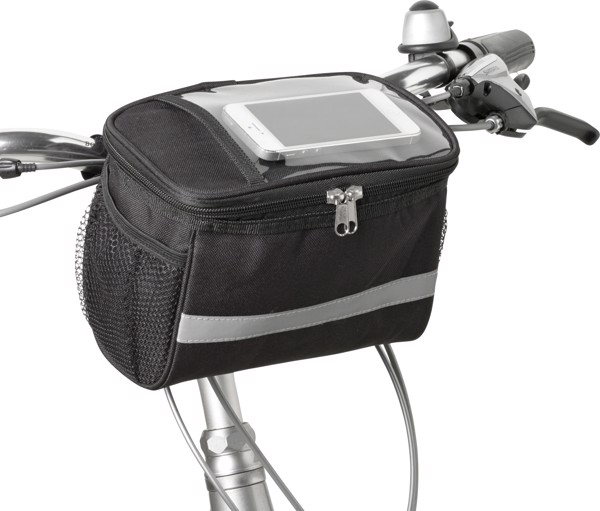 Polyester (600D) bicycle cooler bag