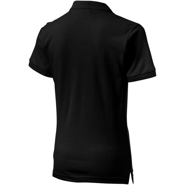 Forehand short sleeve ladies polo - Solid black / L