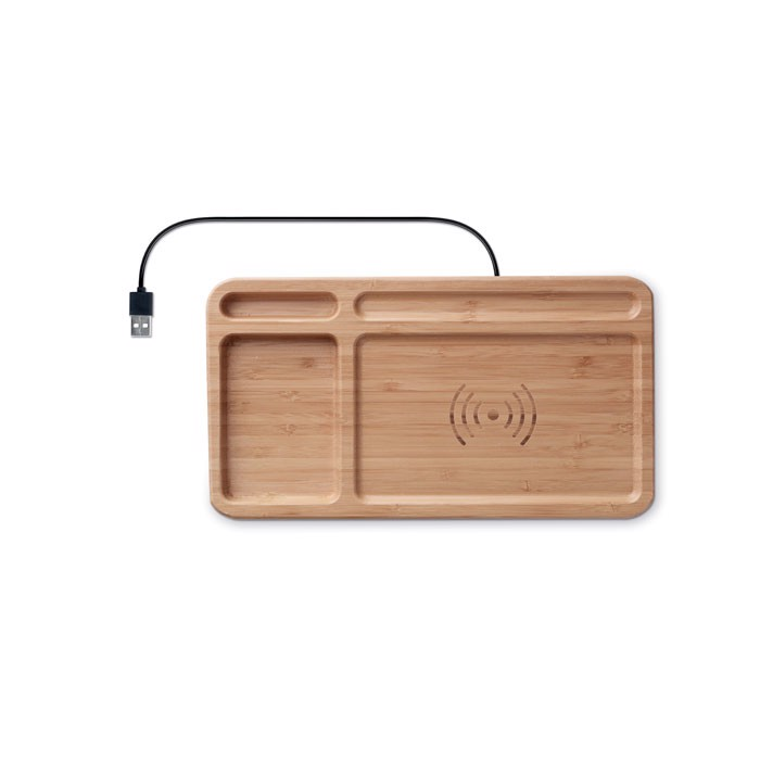 Storage box wireless charger Cleandesk