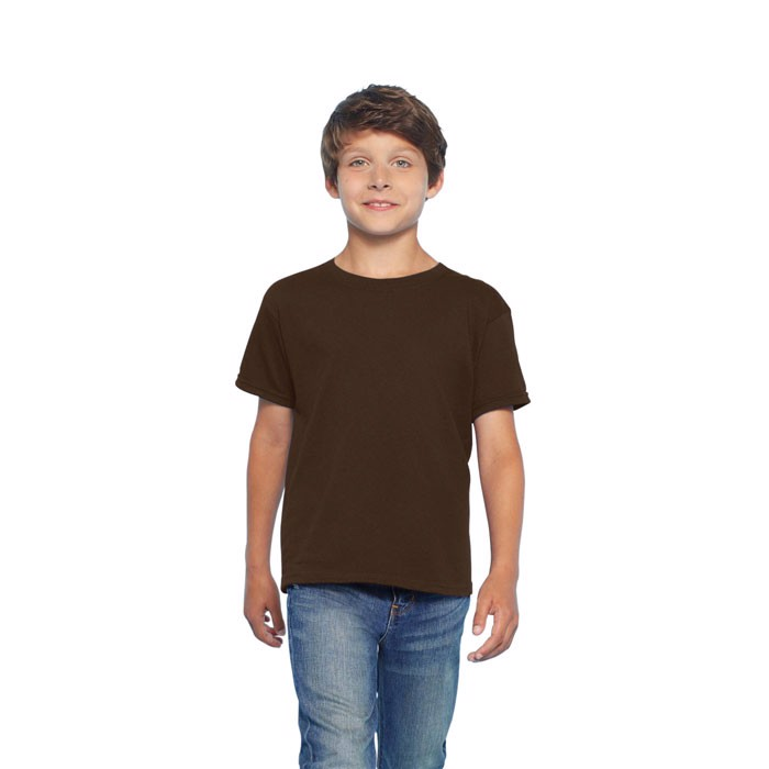 Kids t-shirt 150 g/m² Kids Ring Spun T-Shirt 64000B - Dark Chocolate / S