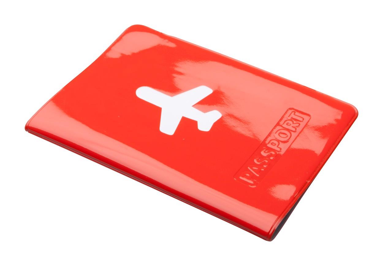 Pouzdro Na Pas Klimba - Červená