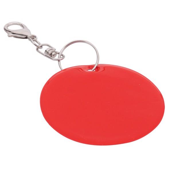 Brelok odblaskowy Reflect - Czerwony