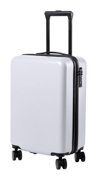 Kufr Na Kolečkách Hessok - Bílá