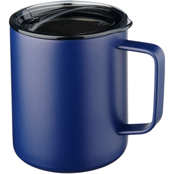 Rover 420 ml copper vacuum insulated mug - Navy