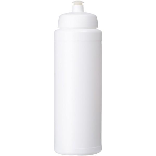Baseline® Plus grip 750 ml sports lid sport bottle - White