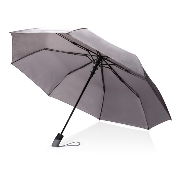 """21"""" skládací automatický deštník deluxe - Šedá"""