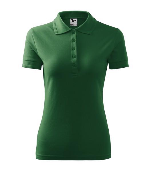 Polo Shirt women's Malfini Pique Polo - Bottle Green / S