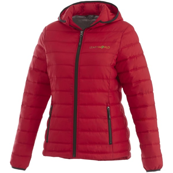 Norquay insulated ladies jacket - Red / M