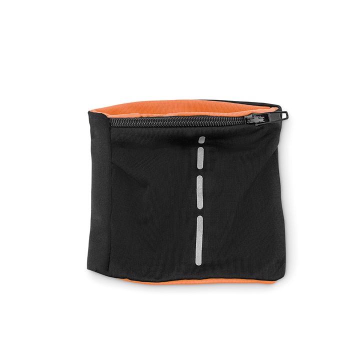 Lycra wristband Runband - Orange