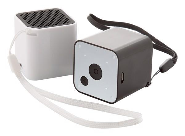 Bluetooth Reproduktor Rhythm - Černá / Bílá
