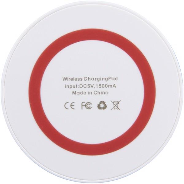 Bezdrátová nabíjecí podložka - Bílá / Červená s efektem námrazy