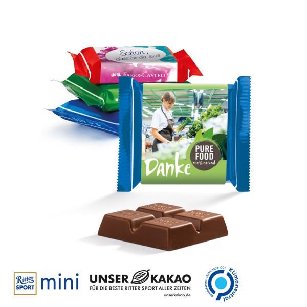 Ritter Sport Mini, Fine Milk Chocolate - White