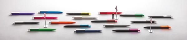 X3 puha tapintású, fekete felületű toll - Sárga / Fekete