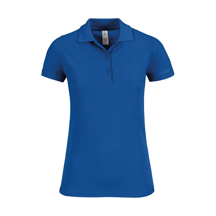 Damen Polo Shirt 180 g/m2 Safran Timeless Women - Royal / XS