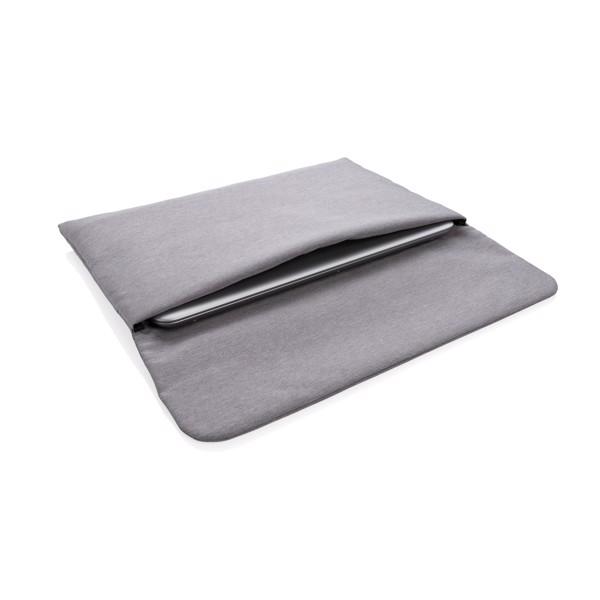 """Pouzdro na 15,6"""" notebook s magnetickým zavíráním - Šedá"""