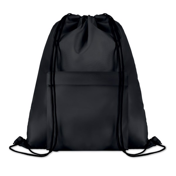 Large drawstring bag Pocket Shoop - Black
