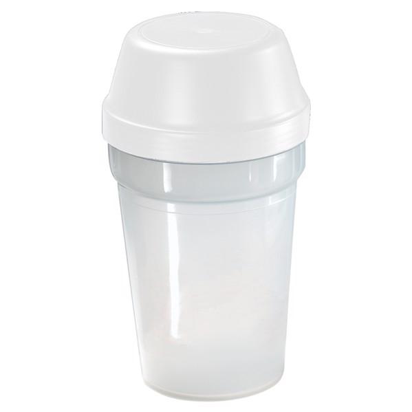 """Shaker """"Multi"""" - Transparent / White"""