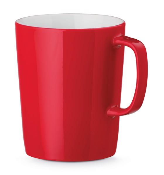 NELS. Ceramic mug 320 ml - Red