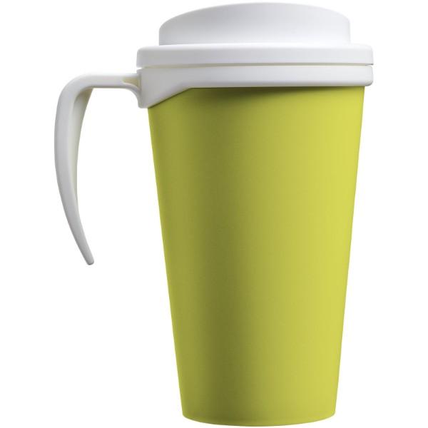 Americano® Vaso térmico grande de 350 ml - Lima / Blanco