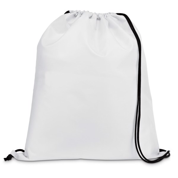 CARNABY. Bolso de la mochila 210D - Blanco