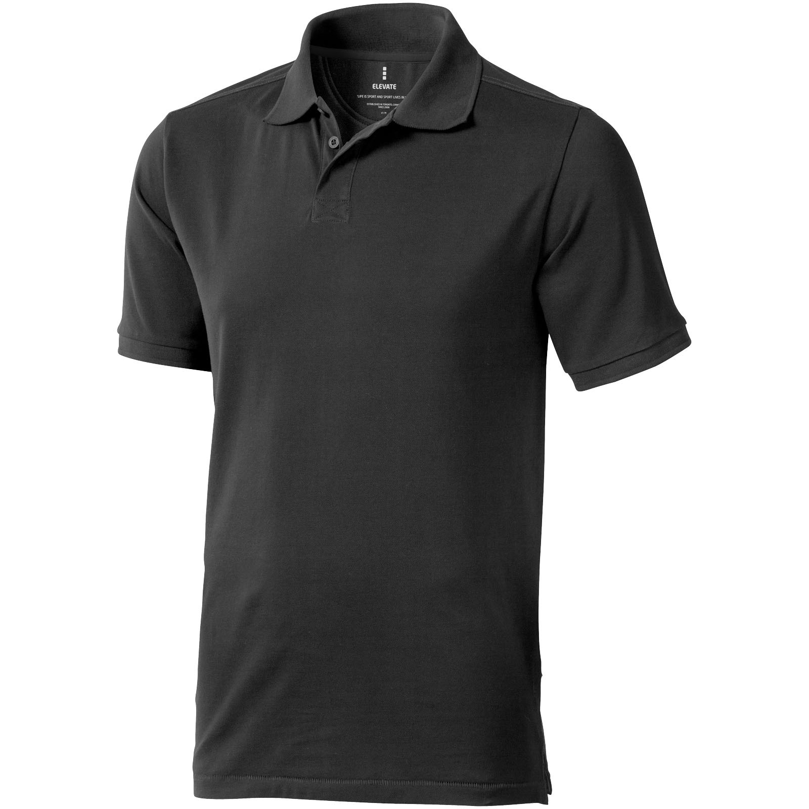 Calgary short sleeve men's polo - Anthracite / S