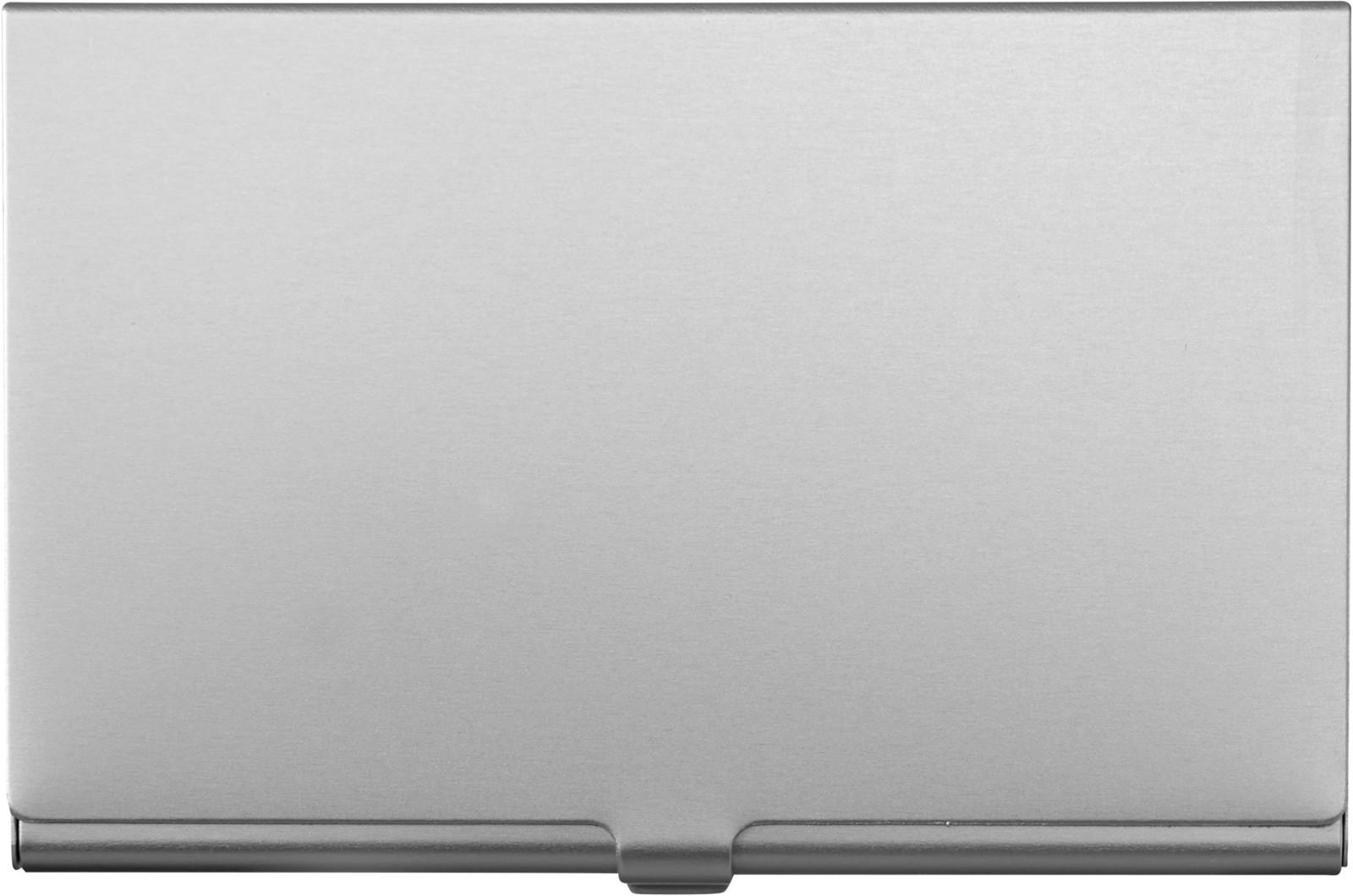 Aluminium card holder - Silver