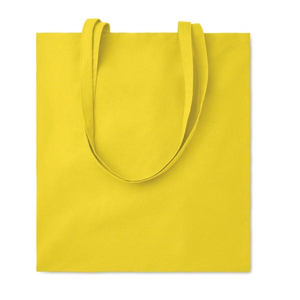 Cotton shopping bag 105 gr/m² Cottonel Colour - Yellow