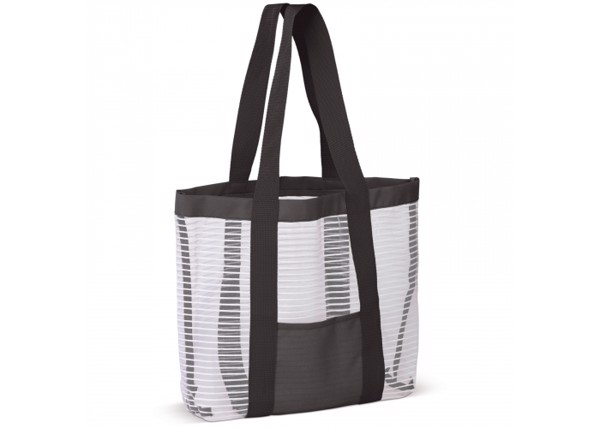 Beach bag - White / Black