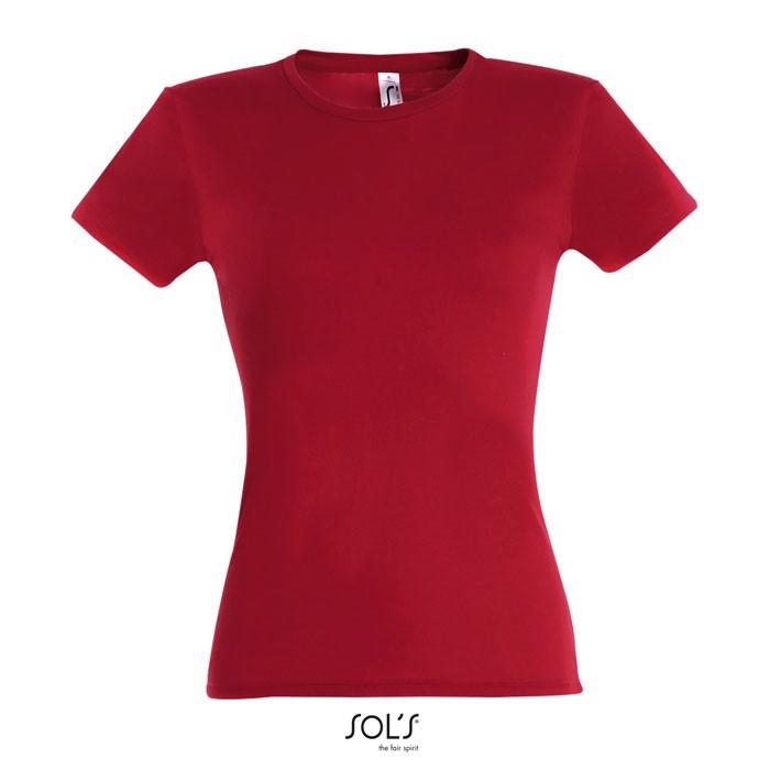 MISS WOMEN T-SHIRT 150g - Red / L