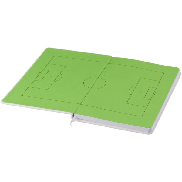 Fotbalový zápisník Rowan A5 - Bílá