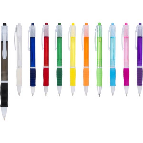 Kuličkové pero Trim - Bílá