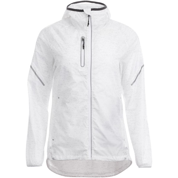 Signal reflective packable ladies jacket - White / S