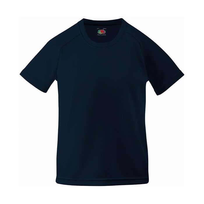 Kinder T-Shirt Sport Kids Performance 61-013-0 - Deep Navy / M