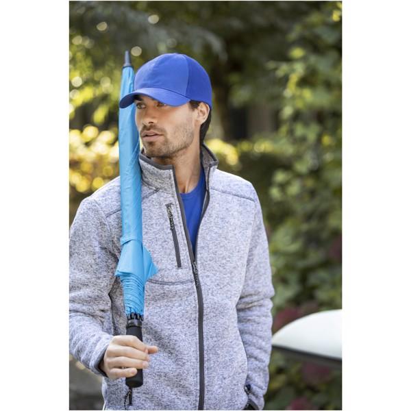 """30"""" golfový deštník Yfke s držadlem z materiálu EVA - Světle modrá"""