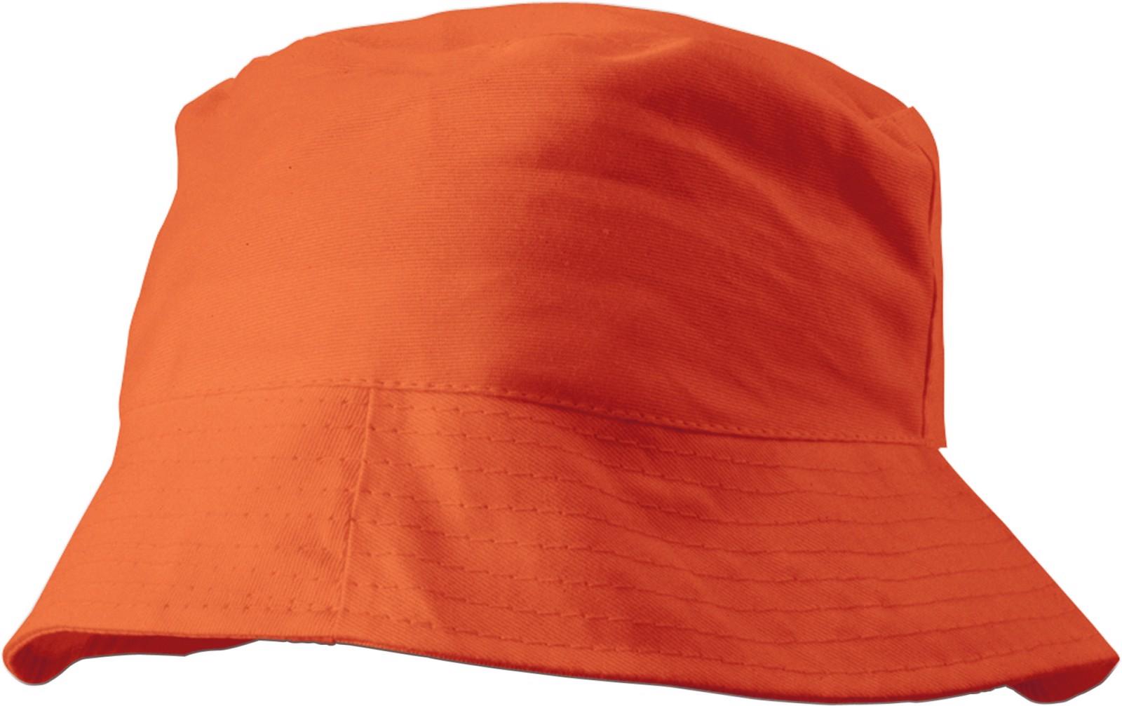 Cotton sun hat - Orange