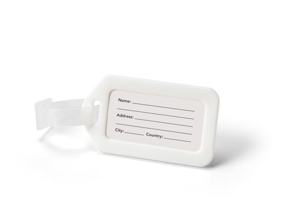 FINDO. Identifikační štítek - Bílá