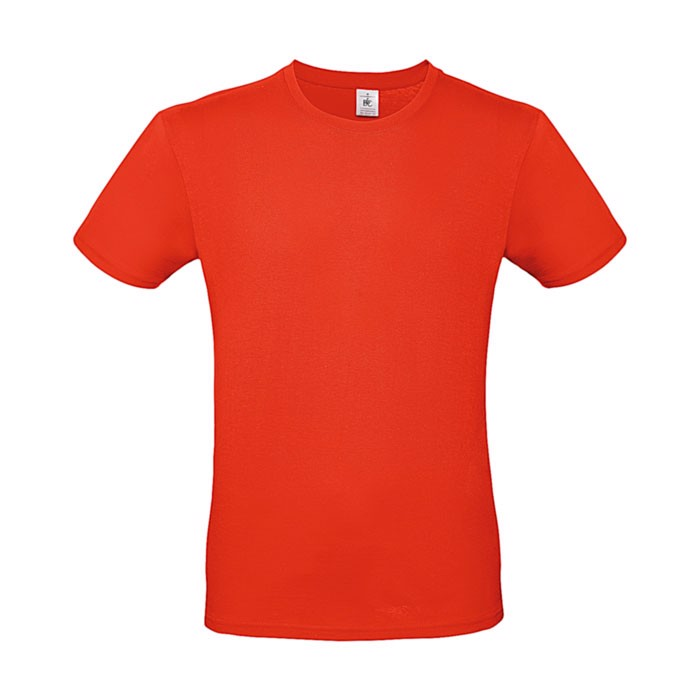 T-shirt 145 g/m² #E150 T-Shirt - Fire red / 3XL