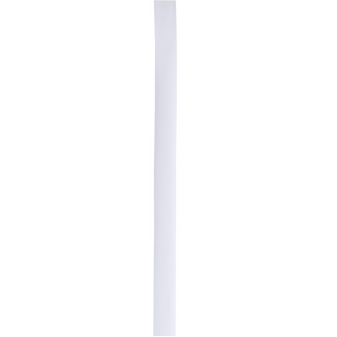 Hatband Polyesterband - White